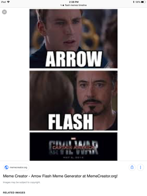 Arrow vs Flash
