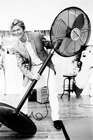 Bowie with his biggest fan