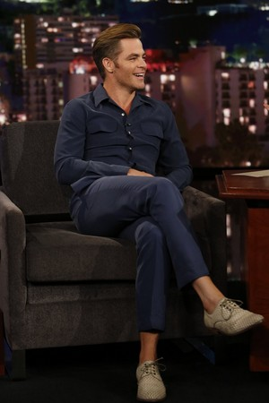 Chris on Jimmy Kimmel LIVE (Aug '16)