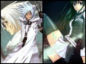 D.Gray-Man Allen Walker and Lenalee Lee