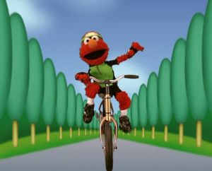 Elmo Cycling (Elmo's World)