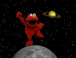 Elmo Dancing on the Moon (Elmo's World)