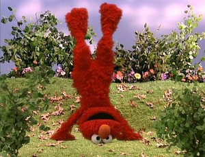 Elmo Doing a Handstand (Elmo's World)