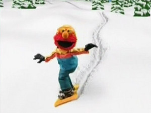 Elmo Snowboarding (Elmo's World)