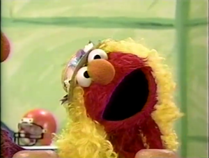 Elmo as Goldilocks (Sesame Street)
