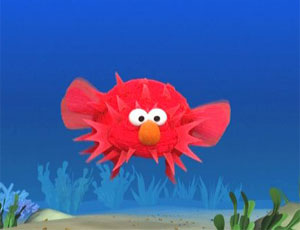 Elmo as a Blowfish (Elmo's World)