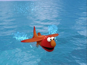 Elmo as a Flying Fish (Elmo's World)