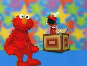 Elmo as a Jack in the Box (Elmo's World)