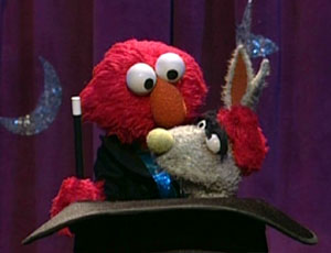 Elmo as a Magician (Elmo's World)