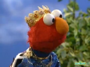 Elmo as a Prince (Sesame Street)