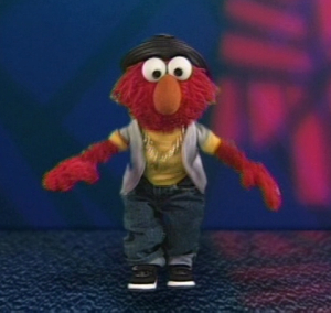 Elmo as a Rapper (Elmo's World)