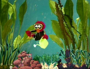 Elmo as a Sea Diver (Elmo's World)