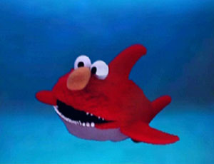 Elmo as a Shark (Elmo's World)