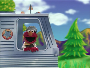 Elmo as a Train Conductor (Elmo's World)