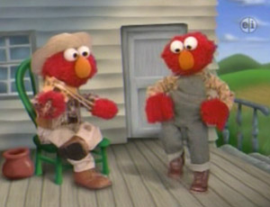 Elmo as a Violin Player (Elmo's World)