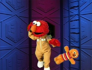 Elmo as an Astronaut (Elmo's World)