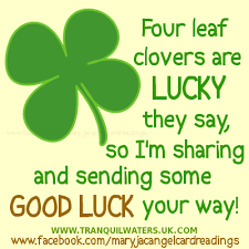 Good Luck Clover