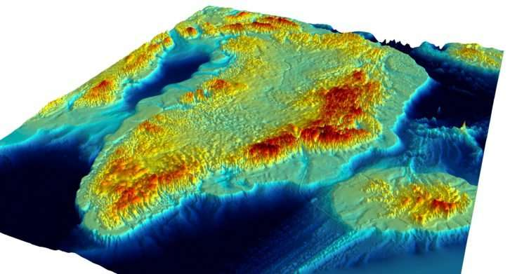 Greenland 3-D Topography Without The Ice Sheet