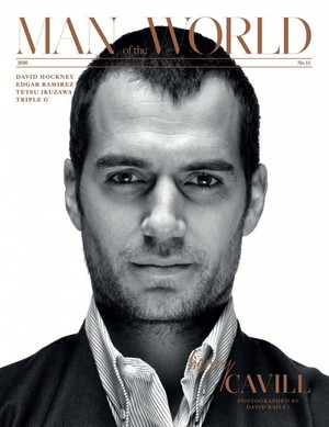 Henry Cavill - Man of the World Cover - 2016