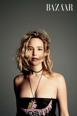 Jennifer Lawrence - Harper's Bazaar Taiwan Photoshoot - 2018