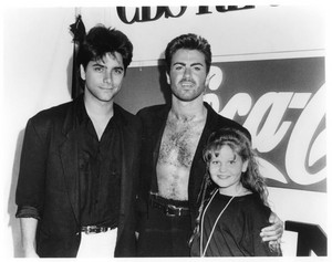 John, George Michael and Candace
