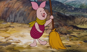 Piglet (The Many Adventures of Winnie the Pooh)