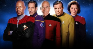 Star Trek 5 Captains