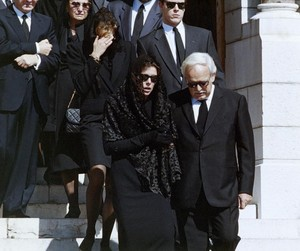 Stefano Casiraghi''s Funeral Back In 1990