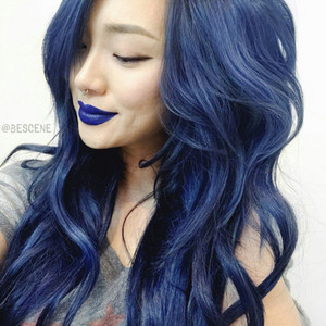 e2cjs9 एल 610x610 make dark blue navy hair hair dye colorful