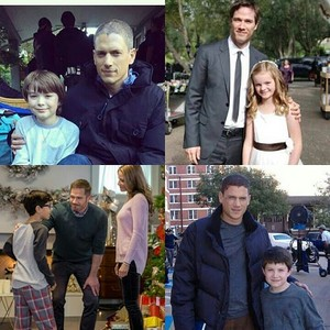 luke and wentworth with child stars