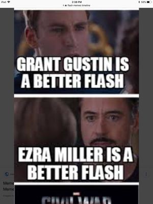 who's the better Flash?