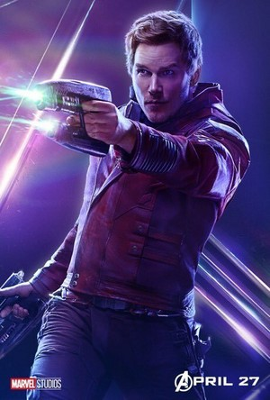Avengers: Infinity War - Star-Lord Poster