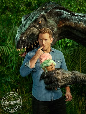 Chris Pratt - Entertainment Weekly Photoshoot - 2018