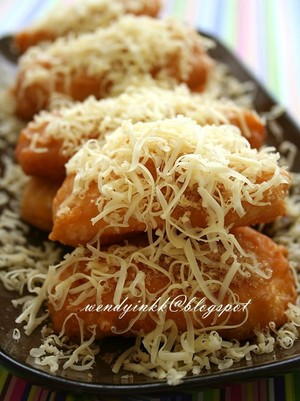 Fried Cheesy banane