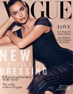 Irina Shayk for Vogue Arabia [February 2018]