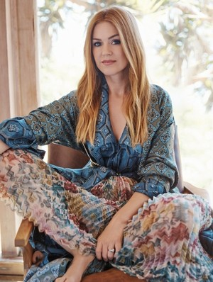 Isla Fisher for Elle Magazine