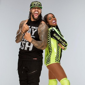 Jimmy Uso and Naomi