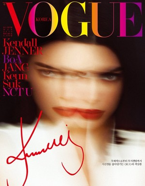 Kendall Jenner for Vogue Korea [March 2018]