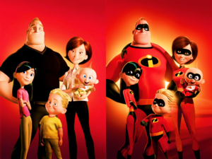The Incredibles normal and super