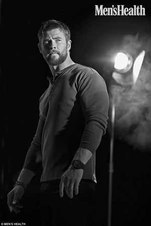 Chris Hemsworth - Men's Health Photoshoot - 2017