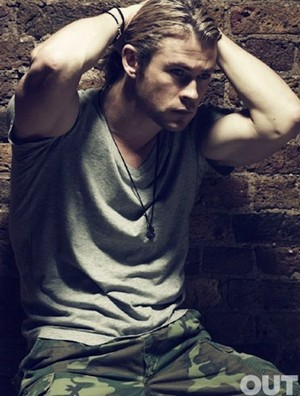 Chris Hemsworth - Out Photoshoot - 2012