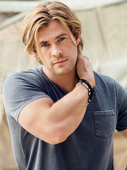 Chris Hemsworth - People's Sexiest Man Alive Photoshoot - 2014