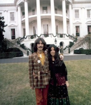 George and Olivia at the White House
