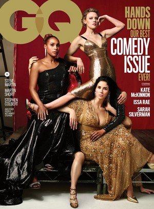 Kate McKinnon - GQ Comedy Issue Cover - 2018