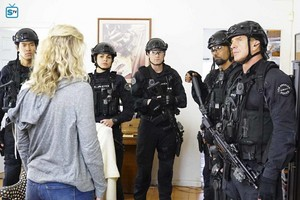 Lina Esco as Chris Alonso in SWAT - Payback