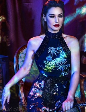 Monica Bellucci in fetishist looks for Marie Claire Mexico [September 2015]