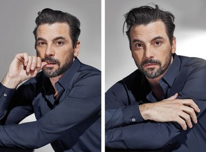 Skeet Ulrich for Elle Magazine
