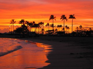 Sunset Beach,Oahu,Hawaii