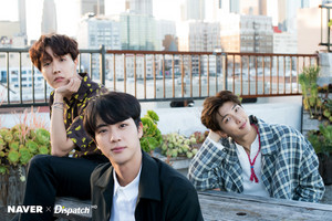 RM, JIN , JHOPE X DISPATCH FOR BTS' 5TH ANNIVERSARY