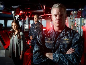 Adam Baldwin as XO Mike Slattery in The Last Ship